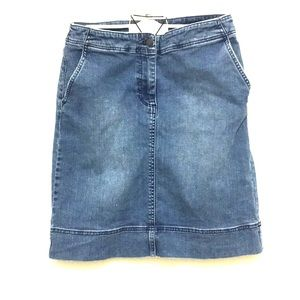 Denim Skirt (Knee Length)